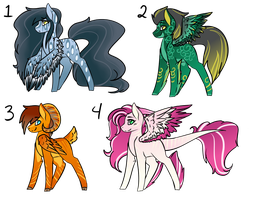 Pegasi Adopt Auction (4/4 OPEN) by cutevulpix56
