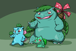 The Bulbasaur Family by Zerochan923600