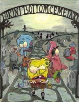 Zombie Spongebob by Transformersfan4ever