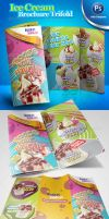 Ice Cream Brochure Trifold PSD by antyalias