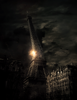 The END of Eiffel tower by p4dmin