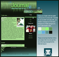Green Wash Journal by BewareGravityCSS