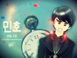 Happy Birthday MINHO by Pulimcartoon