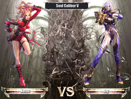Soul Calibur V loading 2D by nickyheavens