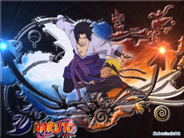 ~Naruto-vs-sasuke- BEAST PICTURE~ by SuperSayian5Naruto