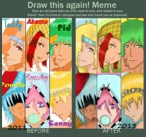 Meme  Before And After by Tyusidwi