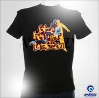 Bize her yer Trabzon t shirt by AYDeezy
