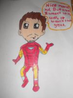 Chibi Iron Man by JediSkygirl