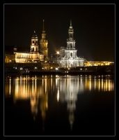 Dresden at night I by Niceshoot