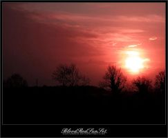 BloodRedSunSet. by disturbed