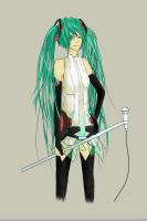 MIKU - Append. by AmeNumPha
