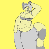 Chubby Berta by ForkTailedFox