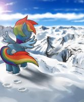 Snow Mountain by mrs1989
