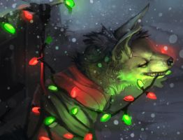 Christmas Decorating by ALRadeck