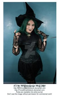 Halloween Gothic Witch Stock 001 by MADmoiselleMeliStock