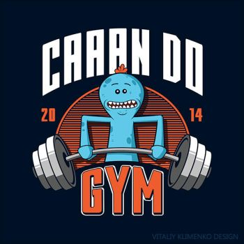 Can Do Gym ( Mr. Meeseeks ) by donot182