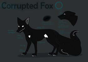 Corrupted Fox Reference Sheet by CorruptedFox