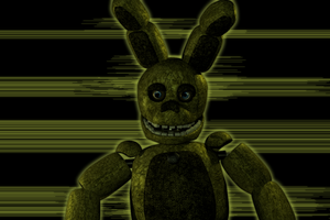 FNaF 3 Un-withered Springtrap by Michael-V