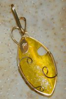 Collaboration in yellow, No. 4, back by DPBJewelry