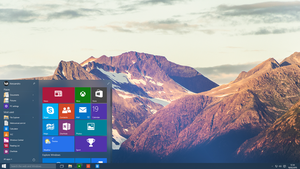 Windows 10 - Start Menu by Metroversal