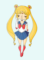 sailor moon by agusmp