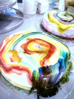 Colorful Cake by ImNotParanoid