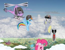 Derpy Dropped The Bomb by TrixieLulamoon11