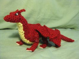 Crochet Dragon by opiel16