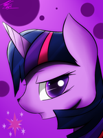 Twilight Sparkle Portrait by Swaphilo
