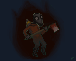 Pyro Background by CloudDestroyer