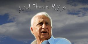 Ariel Sharon R.I.P (1928-2014) by Cobra5000
