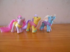 my little pony collection: baby ballerina ponies by theladyinred002
