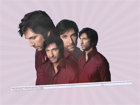 Dylan McDermott  Collage by Marssie