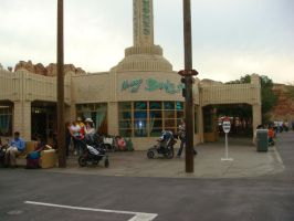 There's Ramone's House of Body Art at Cars Land by Magic-Kristina-KW