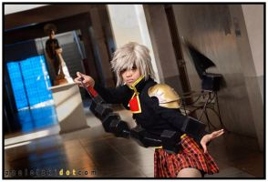 Seven from Final Fantasy Type - 0 II by emptyfilmroll