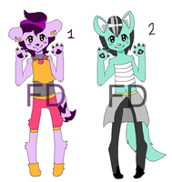 Anthro Adopts Batch 3 [OPEN] by FunkyDreamer