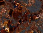 Breakfast Reflection In Spilled Maple Syrup Part 2 by Vorpalcom