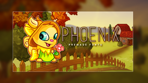 Phoenix Fonts Banner by morbidcupcakes