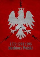partitions of Poland 1722-1795 by Thothhotep