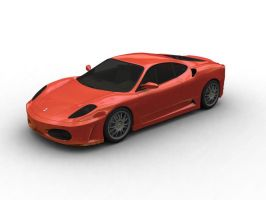 1st Car in 3DS Max by prox3h