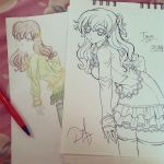 A before and after... :D by ilovetheanime