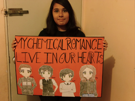 My Chemical Romance live in our hearts by jazyuzumaki