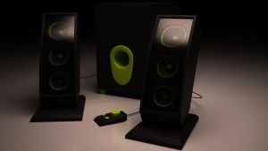 Speed modeling - Speakers by Ricsmond