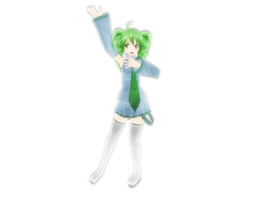 MMD Newcomer - Project Diva Keko Kasane! by KEdd-P