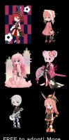 FREE Adopts Set .:CLOSED:. by Cuteness-Adopts