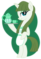 Tea Pony Art Trade by Shokka-chan