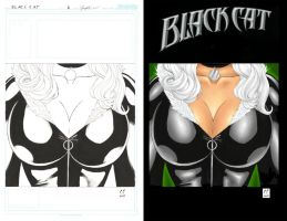"Black Cat ""Cover Design"" by daikkenaurora"