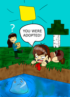 you where adopted! by 11newells