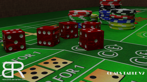 Casino - Craps Table - V2 by Neon2005