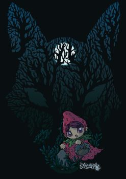 Black Forest with Strawberry Riding Hood by ExtremelyShane